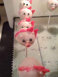 Baby girl cake pops 2