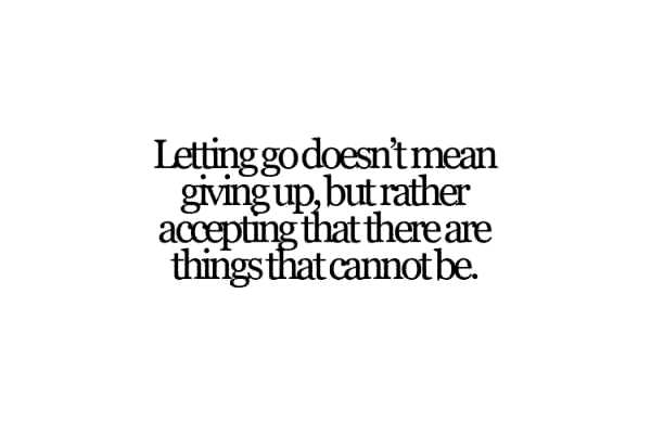 the pain of moving on