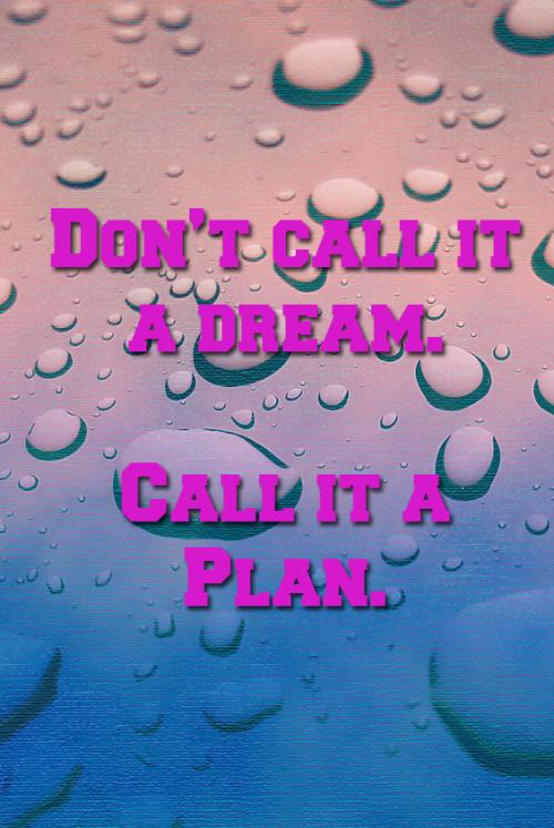 A Plan